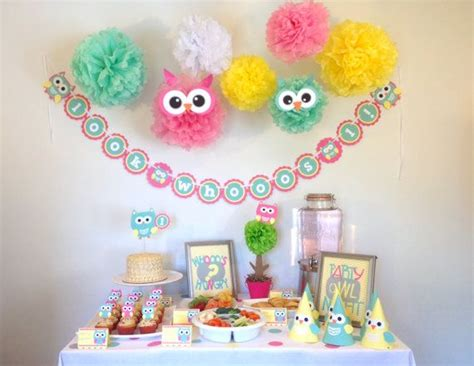 Owl Decorations For Birthday by 25 Best Ideas About Owl Decorations On