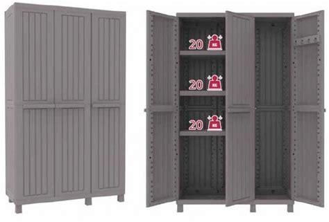 armadio resina esterno armadio armadietto resina esterno terry c wood 3 ante vano