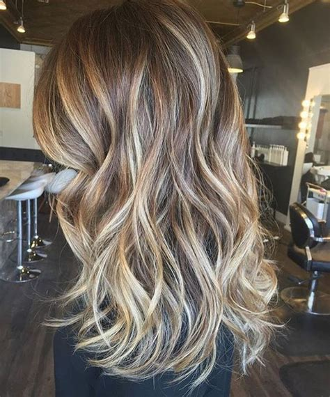 fall highlights for brown hair 25 best ideas about partial blonde highlights on
