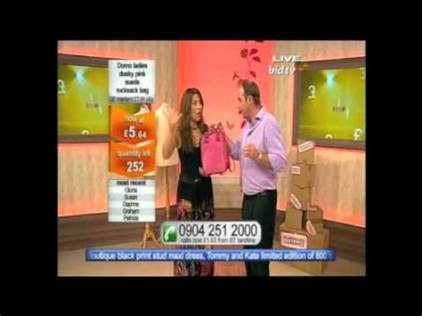 bid shopping topp bid shopping presenter