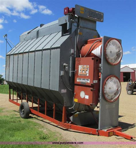 farm fans grain dryers farm fan cfsa410 continuous flow grain dryer no reserve
