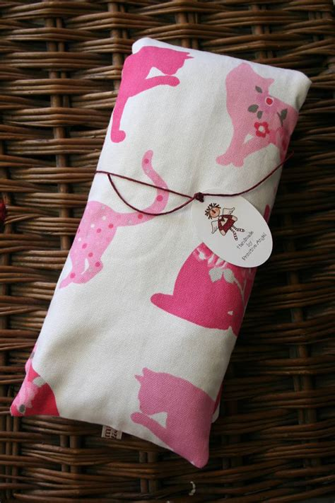 Lavender Wheat Pillow by Handmade Lavender And Wheat Heat Bag Pillow By Primitive Notonthehighstreet