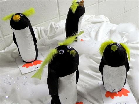How To Make A Paper Mache Penguin - we 1st penguin paper mache tutorial