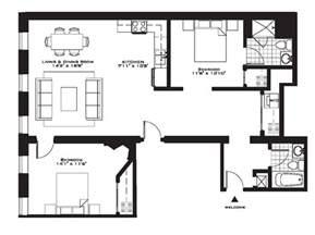 five bedroom flat plan