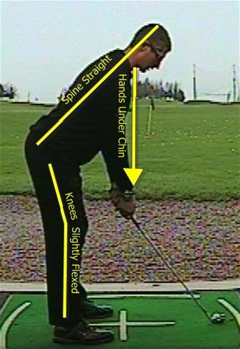 beginning golf swing fix your posture when playing golf with these tips