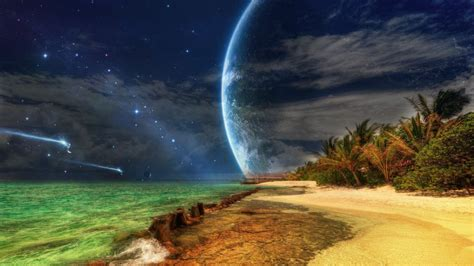 wallpaper island n6 hd dreamboard theme for iphone 4 spaceships approaching tropical island hd wallpaper hd