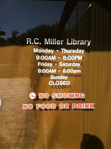R C Miller Memorial Library Libraries Beaumont Tx Yelp Miller Trust Template Florida