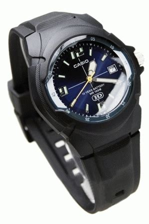 Jam Tangan Casio Original Wanita Ltpe308d7a Analog Chrono T1310 4 jam tangan casio pria mw600f original analog tali karet