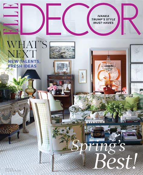 decor magazine kate rheinstein brodsky s apartment in elle decor