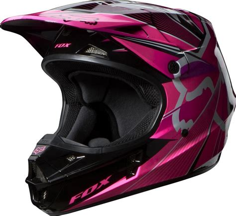 womens motocross helmet 159 95 fox racing womens v1 radeon helmet 2014 194947