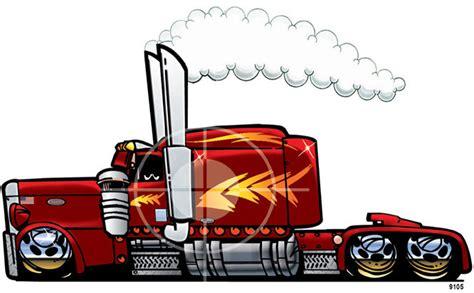 peterbilt semi big rig truck sleeper cab t shirt