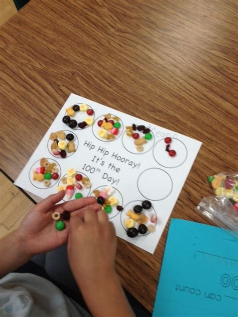 100 day snack sorting mat kinder learning garden hip hip hooray it s our 100th day