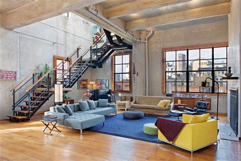 Interior Architect New York by Unique Loft Interior Design In New York