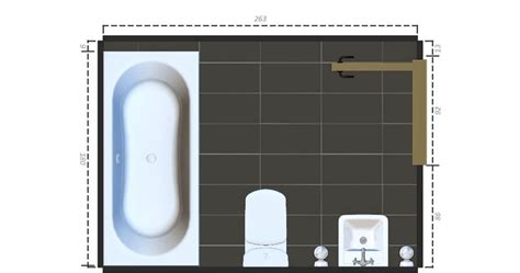 15 free sle bathroom floor plans small to large