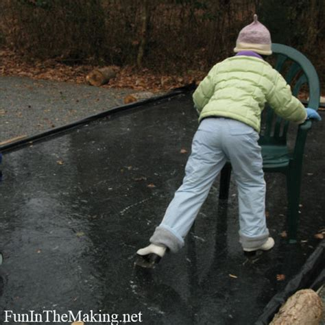 How To Make A Skating Rink In Your Backyard by Go Ahead And Make Your Own Rink It Is Easy In