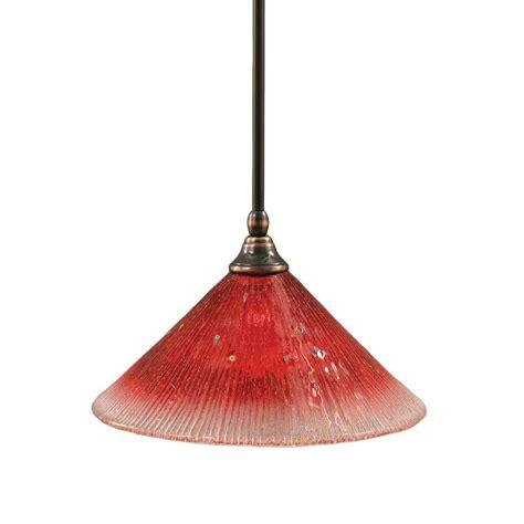 Filament Pendant Lighting Filament Design Concord 1 Light Black Copper Pendant Cli Tl5002723 The Home Depot