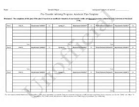 Academic Plan Template by 11 Best Images Of Academic Planning Worksheet College