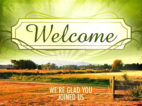 Hallelujah Powerpoint Template Powerpoint Sermons Welcome Presentation Templates