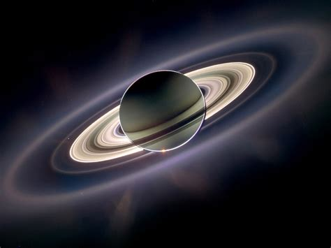 planet saturn   rings hd wallpaper wallpaperscom