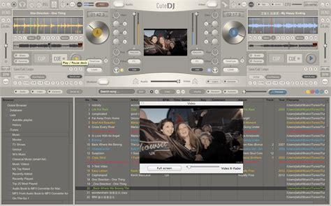 dj software free download full version filehippo download free cutedj dj software by dj mixing software v