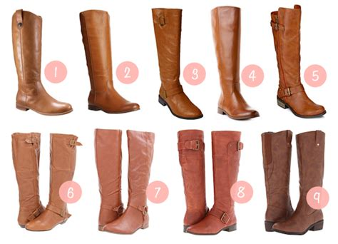 cognac colored boots putting me together fall shopping cognac boots