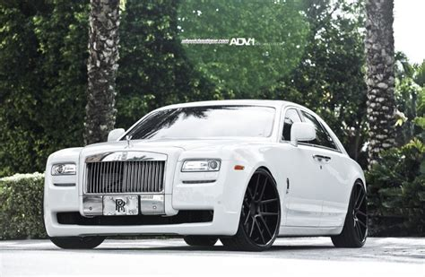 roll royce ghost white rolls royce ghost rolling deep on adv5 0 adv 1 wheels