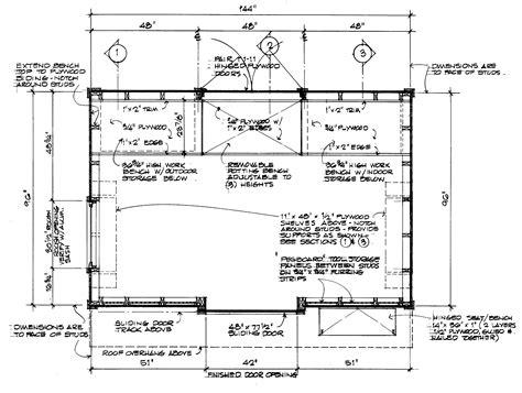 garden storage shed plans part   step  step
