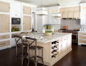 Kitchen Island With Wine Storage by Kitchen Island With Wine Rack Design Options Homesfeed