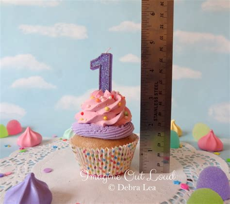 Fakes A Three Way For Bday by Cupcake Happy Birthday Celebrate Pink Purple