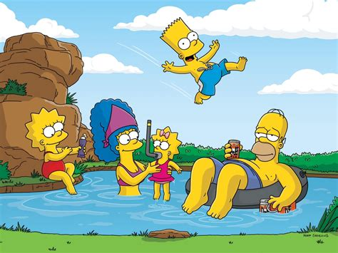 Home Design Story Jugar Online by Last Exit To Springfield Simpsons Wallpaper
