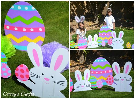 easter backyard decorations crissy s crafts march 2014