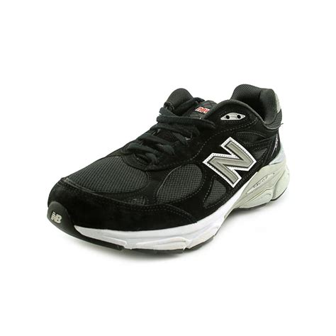new balance m990 mens size 13 black suede running shoes no