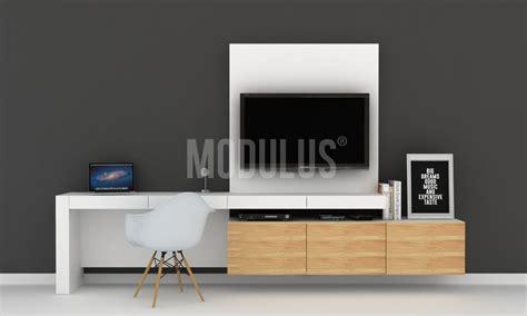 mueble de tele escritorio moderno con mueble de tv muebles de tv