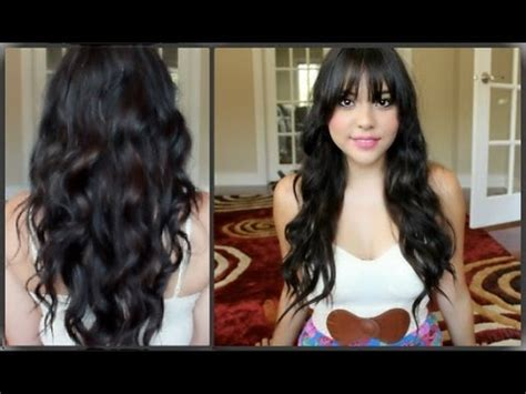 tutorial for black bonded weave hairstyles my first hair extensions tutorial youtube
