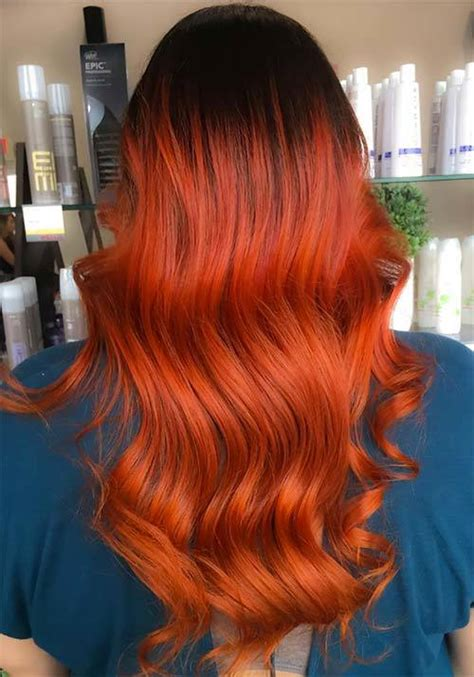 burnt orange hair color 10 bold burnt orange hair colors for adventurous