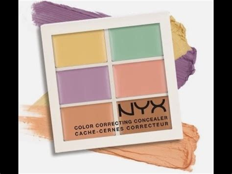 Nyx Corrector Palette nyx color corrector concealer palette me cover my