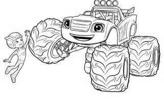 gallery gt blaze monster machines coloring pages