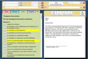 notes software therapy notes software note designer
