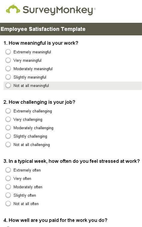 best 25 employee satisfaction survey ideas on pinterest