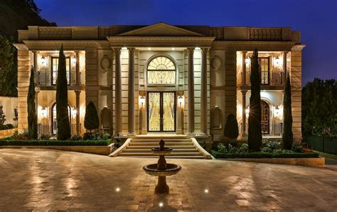neoclassical homes 26 million newly built grand neoclassical estate in bel air ca homes of the rich the 1