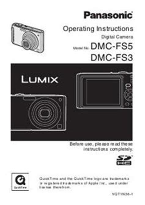 Panasonic Lumix Fs5 panasonic lumix fs5 manuals