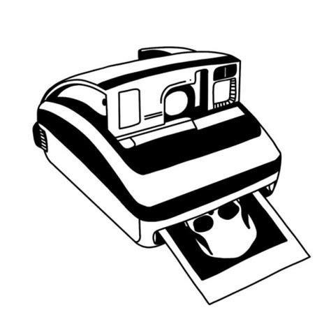 black polaroid black polaroid