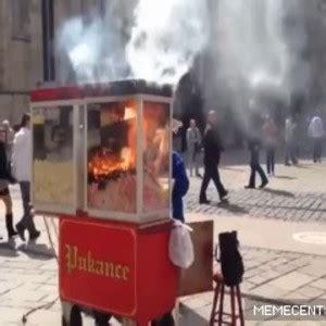 popcorn machine  fire     fck