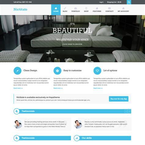 theme wordpress free responsive ecommerce nictitate multi purpose free responsive wordpress theme