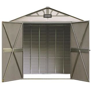 Craftsman Shed Accessories by Craftsman 8 X 5 Vinyl Coated Steel Shed Durable Storage At Sears