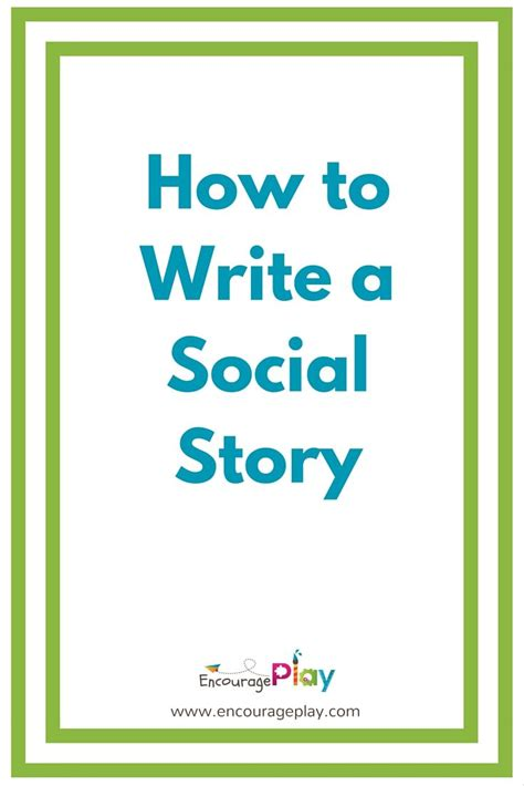 25 best ideas about social stories on pinterest social
