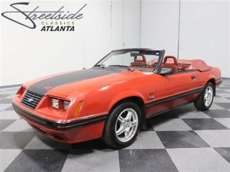 5 0 liter mustang ford mustang 5 0 liter v8 1984 convertible sold
