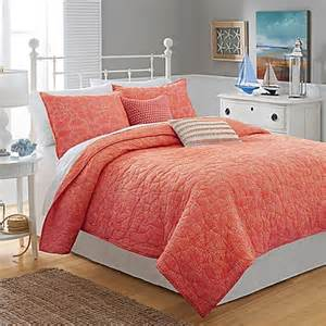 coral color bedding buy southern tide 174 lagoon quilt in coral from