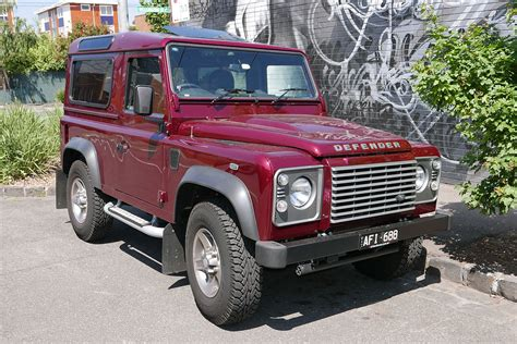 red land rover defender land rover defender wikipedia