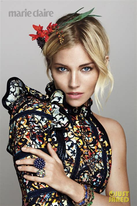 sienna miller in marie claire magazine october 2015 issue sienna miller in marie claire magazine october 2015 issue